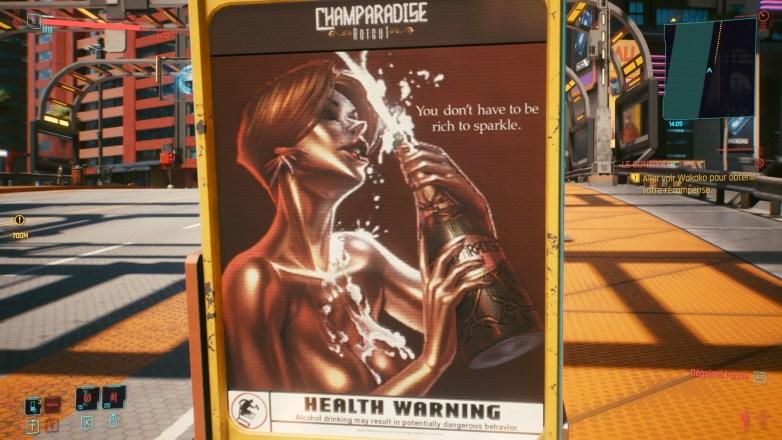 Pubs hot dans Cyberpunk 2077 01