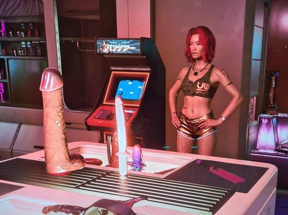 Screeshot sexy Cyberpunk 2077 03