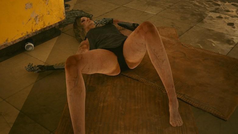 Sexe et voyeurisme dans Cyberpunk 2077 01