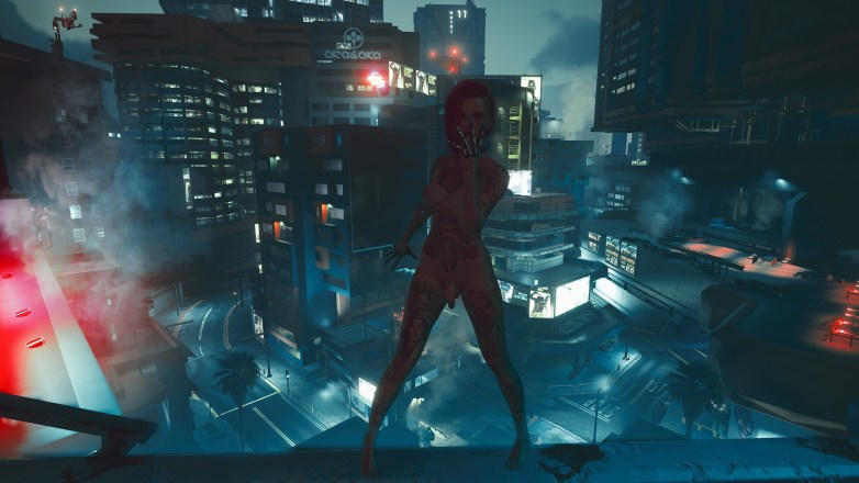 V version porno dans Cyberpunk 2077 08