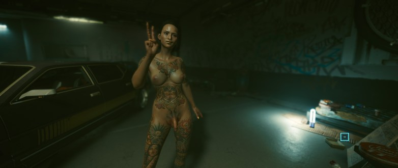 V version porno dans Cyberpunk 2077 17