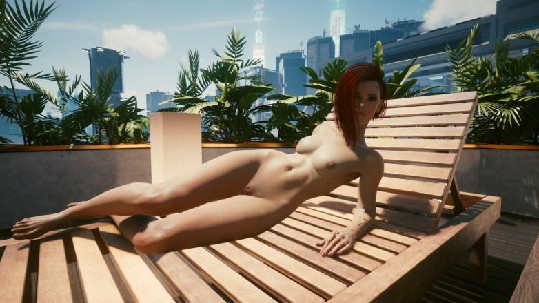 V version porno dans Cyberpunk 2077 25