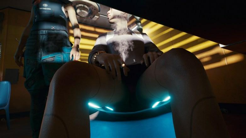 Voyeurisme dans Cyberpunk 2077 04