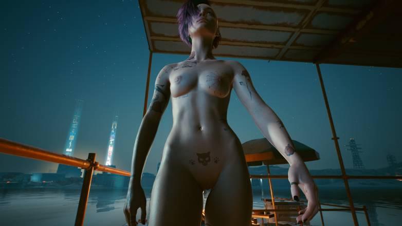 Nudes Mods pour Cyberpunk 2077