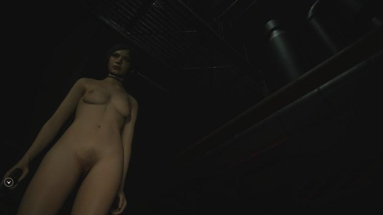 Ada Wong nue dans la campagne Bis de Leon 03