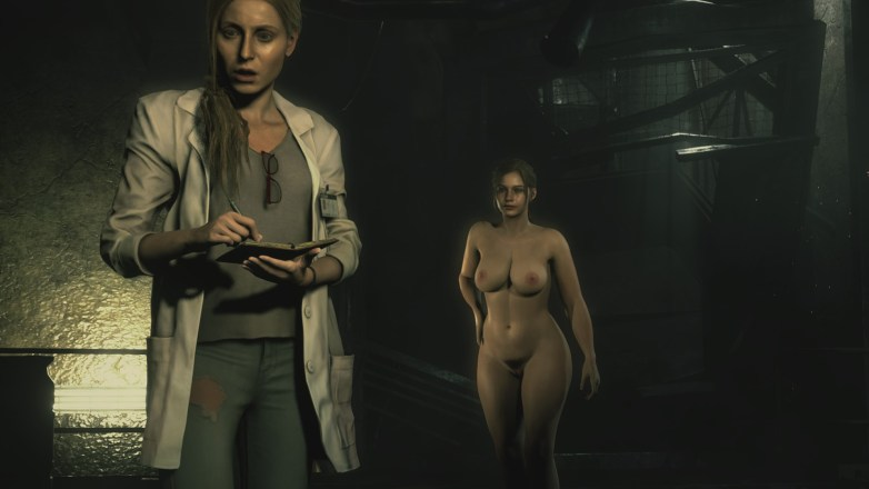 Claire Redfield - Nude Patch Curvy 17