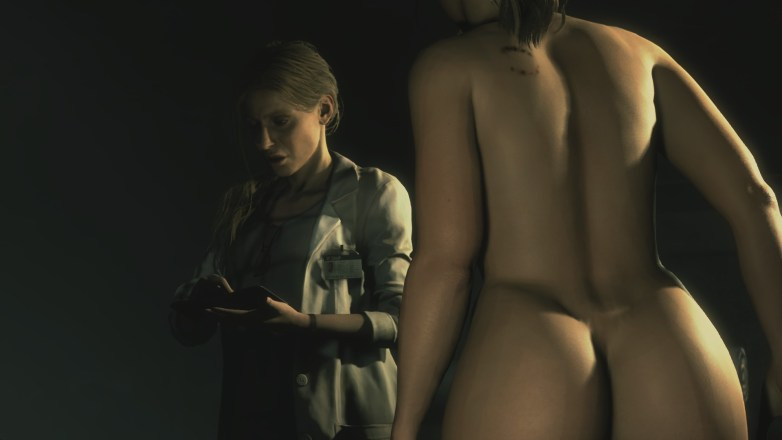 Claire Redfield - Nude Patch Curvy 18