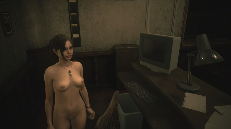 Claire Redfield - Nude Patch Resident Evil 2 Remake 17