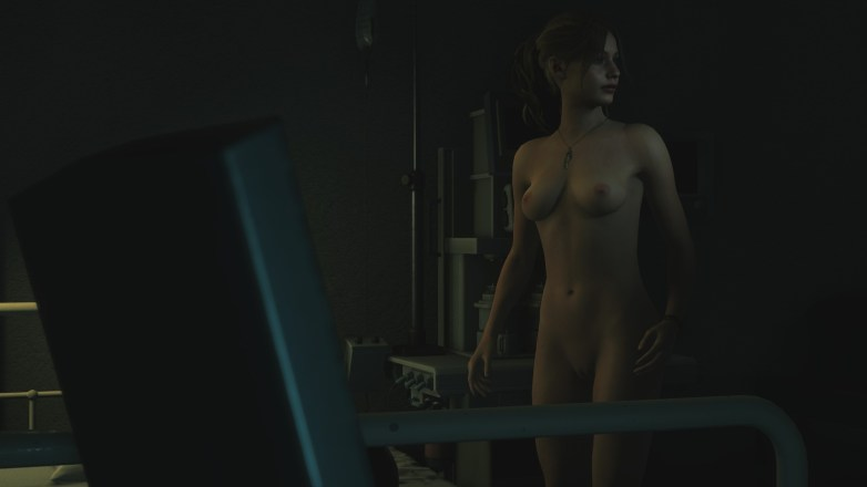 Claire Redfield - Nude Patch Resident Evil 2 Remake 47