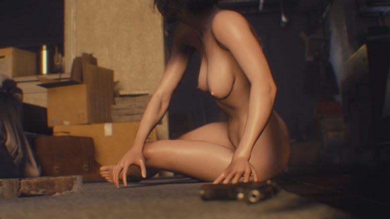 Jill Valentine nue dans Resident Evil 3 Remake 007