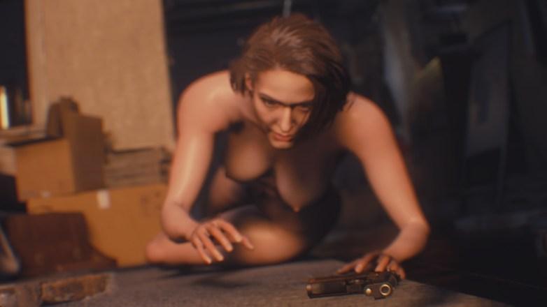 Jill Valentine nue dans Resident Evil 3 Remake 008