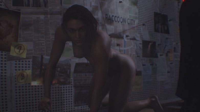 Jill Valentine nue dans Resident Evil 3 Remake 012