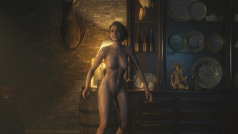 Jill Valentine nue dans Resident Evil 3 Remake 038