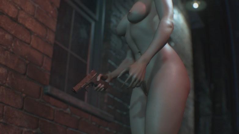 Jill Valentine nue dans Resident Evil 3 Remake 040