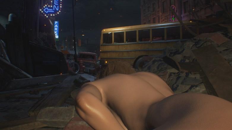 Jill Valentine nue dans Resident Evil 3 Remake 042