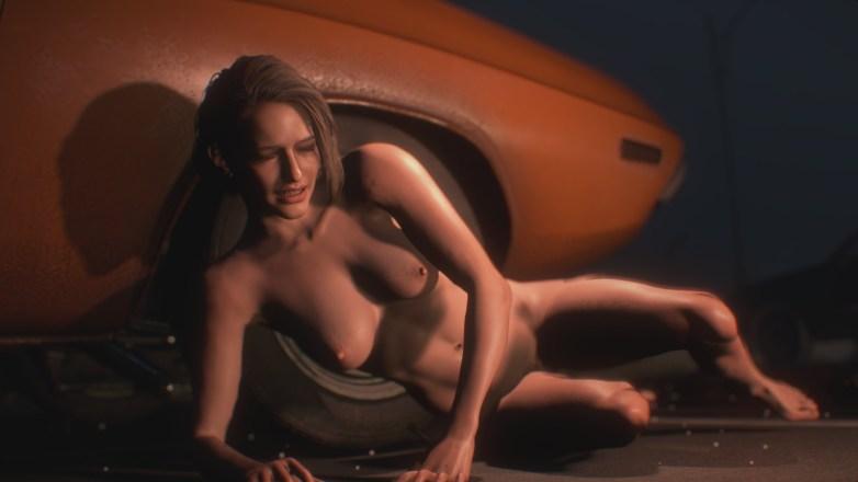 Jill Valentine nue dans Resident Evil 3 Remake 049