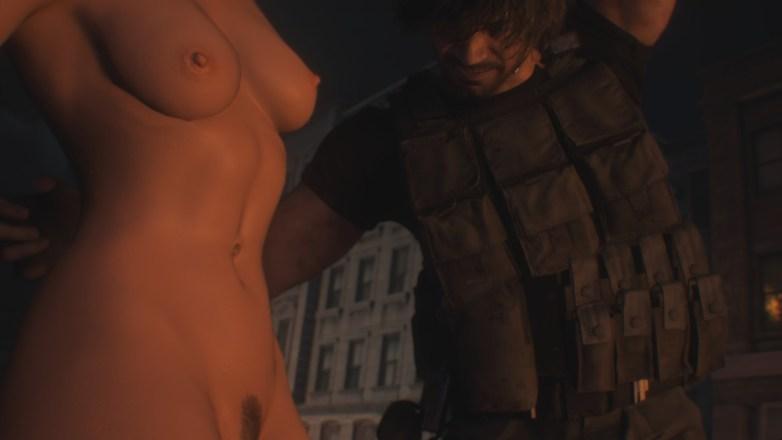 Jill Valentine nue dans Resident Evil 3 Remake 056