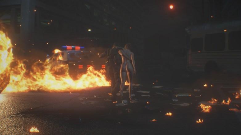 Jill Valentine nue dans Resident Evil 3 Remake 058