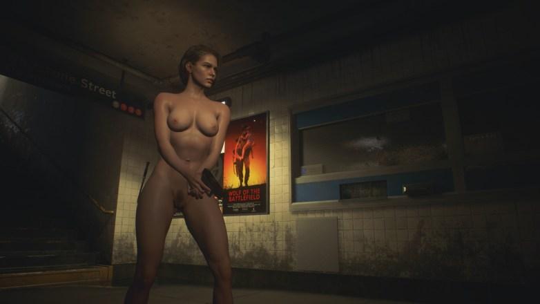 Jill Valentine nue dans Resident Evil 3 Remake 060