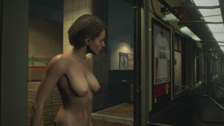 Jill Valentine nue dans Resident Evil 3 Remake 061