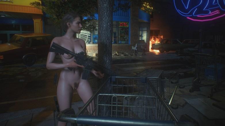 Jill Valentine nue dans Resident Evil 3 Remake 070
