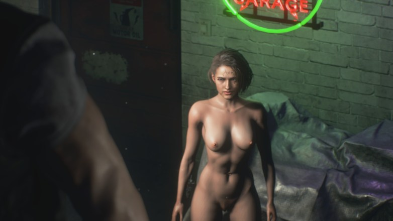 Jill Valentine nue dans Resident Evil 3 Remake 075
