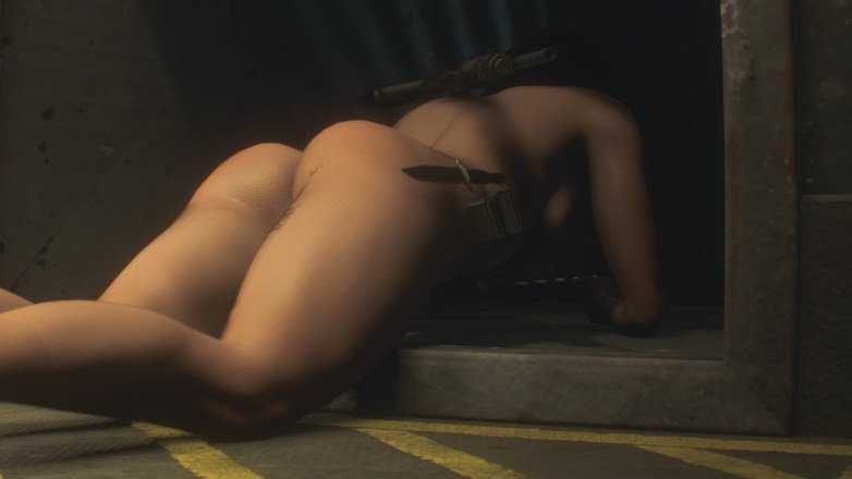 Jill Valentine nue dans Resident Evil 3 Remake 085
