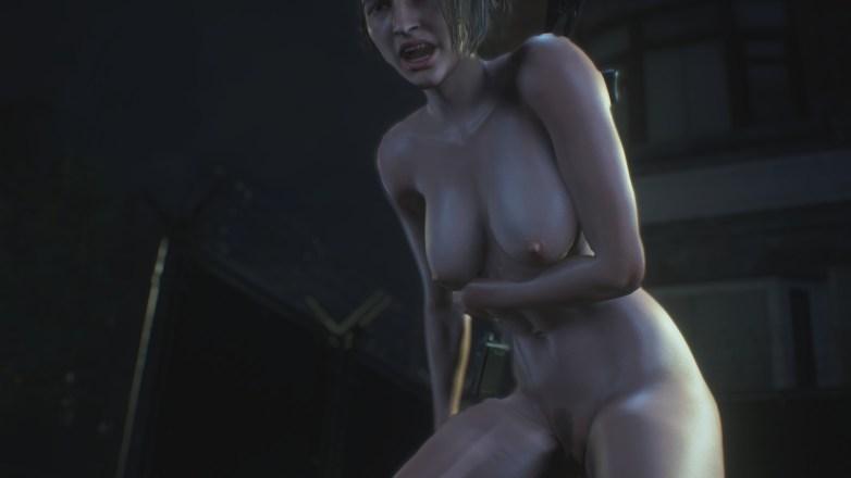 Jill Valentine nue dans Resident Evil 3 Remake 098