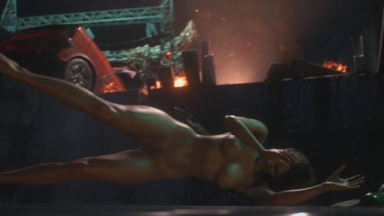 Jill Valentine nue dans Resident Evil 3 Remake 103
