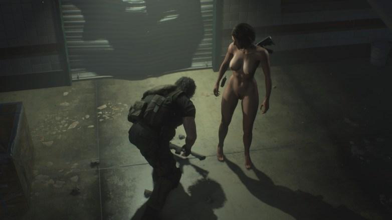 Jill Valentine nue dans Resident Evil 3 Remake 105