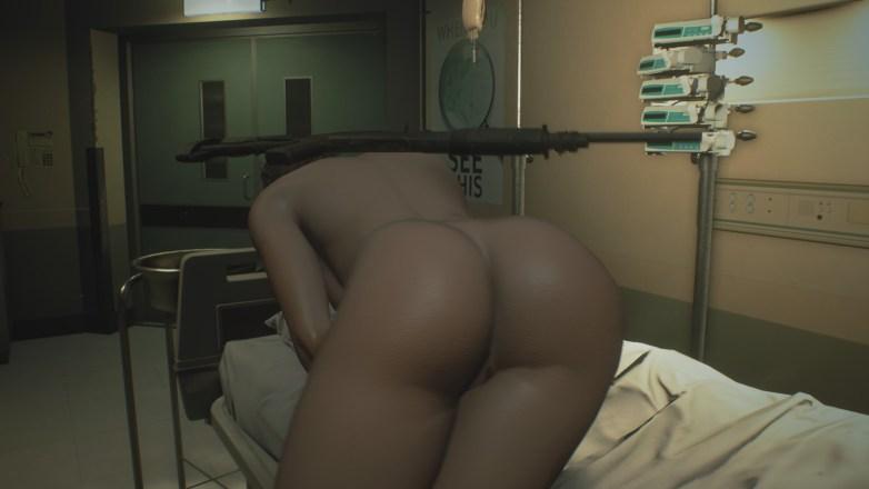 Jill Valentine nue dans Resident Evil 3 Remake 126