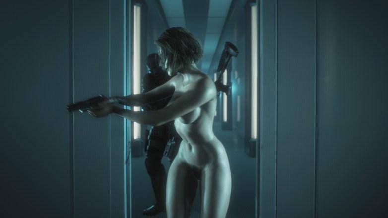 Jill Valentine nue dans Resident Evil 3 Remake 128