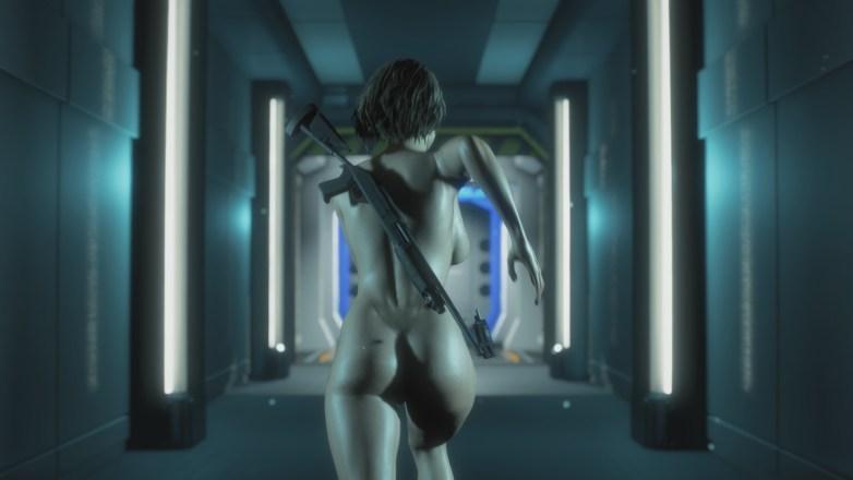 Jill Valentine nue dans Resident Evil 3 Remake 133