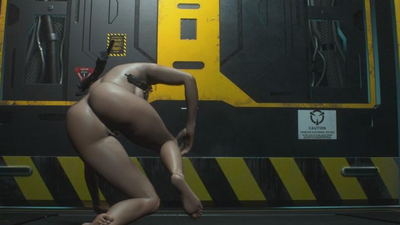Jill Valentine nue dans Resident Evil 3 Remake 134