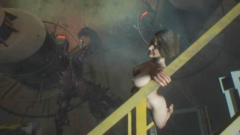 Jill Valentine nue dans Resident Evil 3 Remake 143