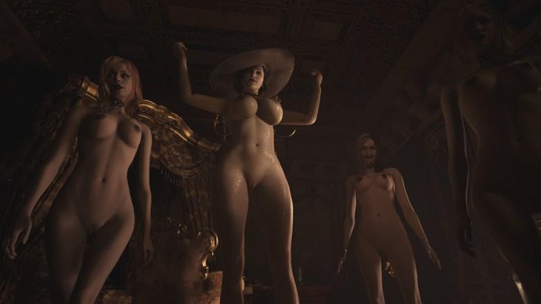 Alcina Dimitrescu nue dans Resident Evil Village 02