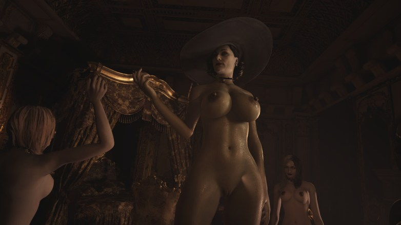 Alcina Dimitrescu nue dans Resident Evil Village 05