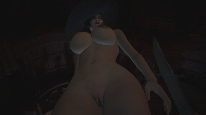 Alcina Dimitrescu nue dans Resident Evil Village 11