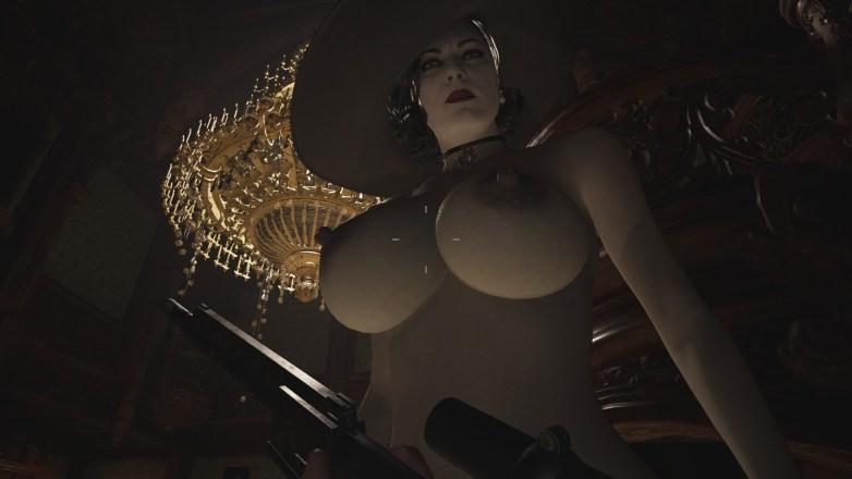 Alcina Dimitrescu nue dans Resident Evil Village 14