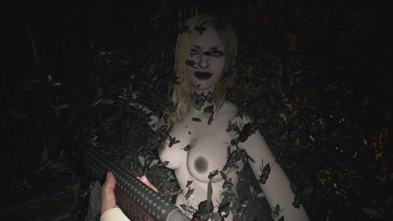 Les filles Dimitrescu nues dans RE 8 14