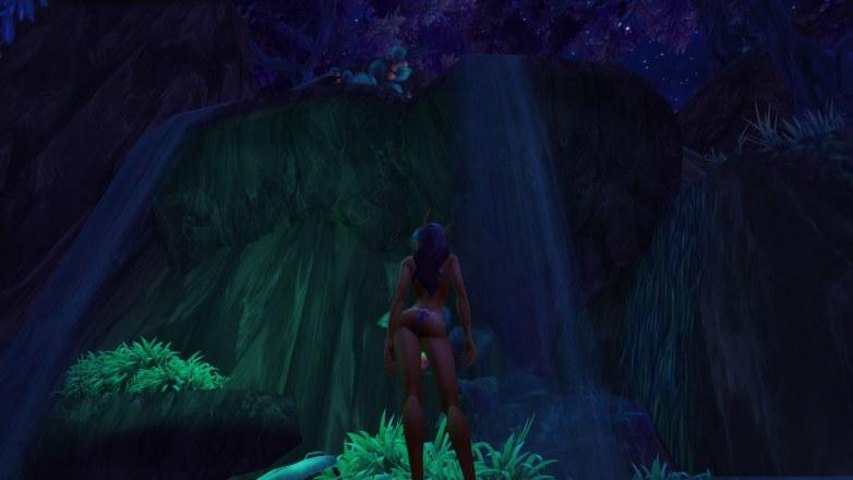 Elfe du vide en lingerie wow 01