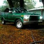 1978 Ford F150 Green Handed Down From The Old Man
