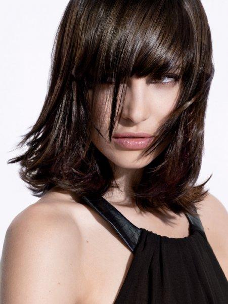 Belle Couleur Cheveux Fonc Pour Femme