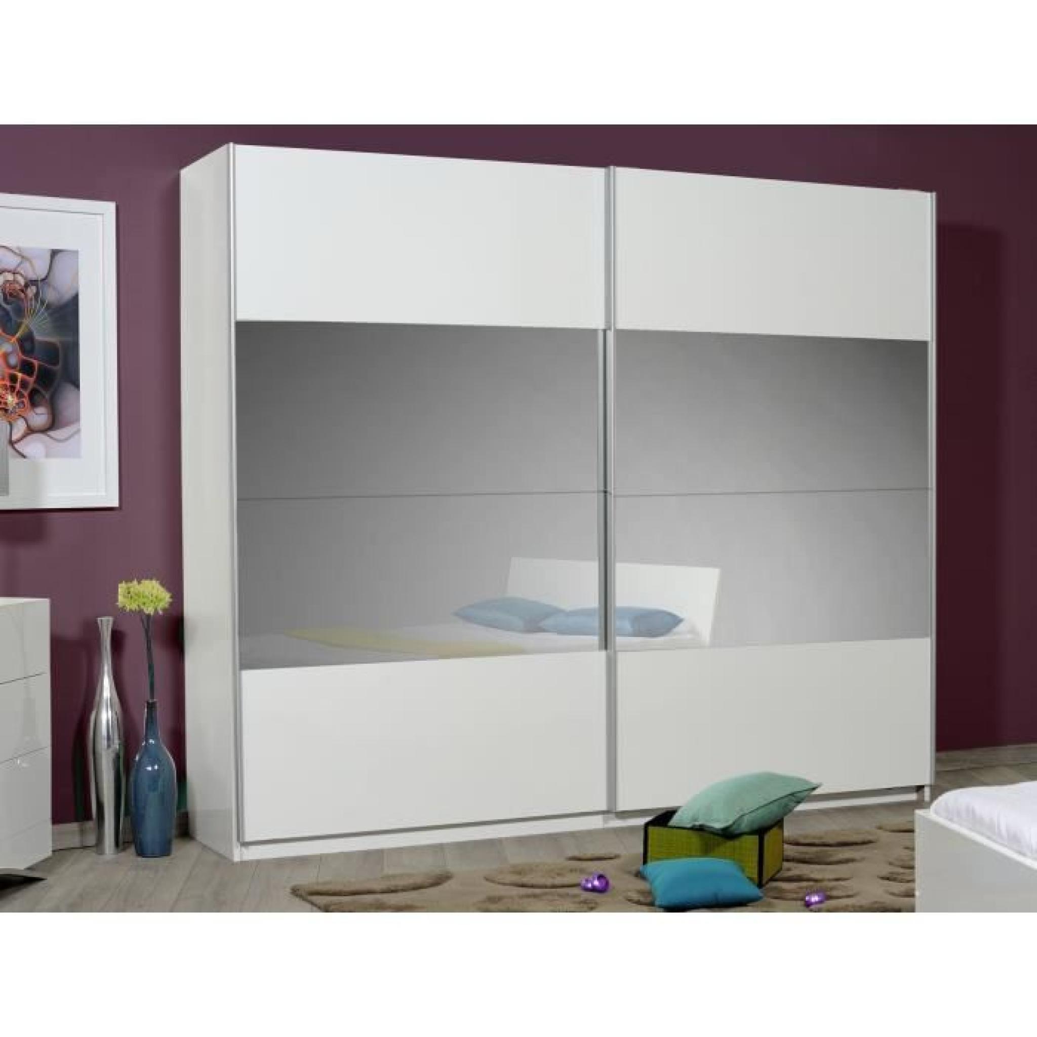 OPTIMUS MAXI Armoire Dressing 260 Cm Blanc AchatVente