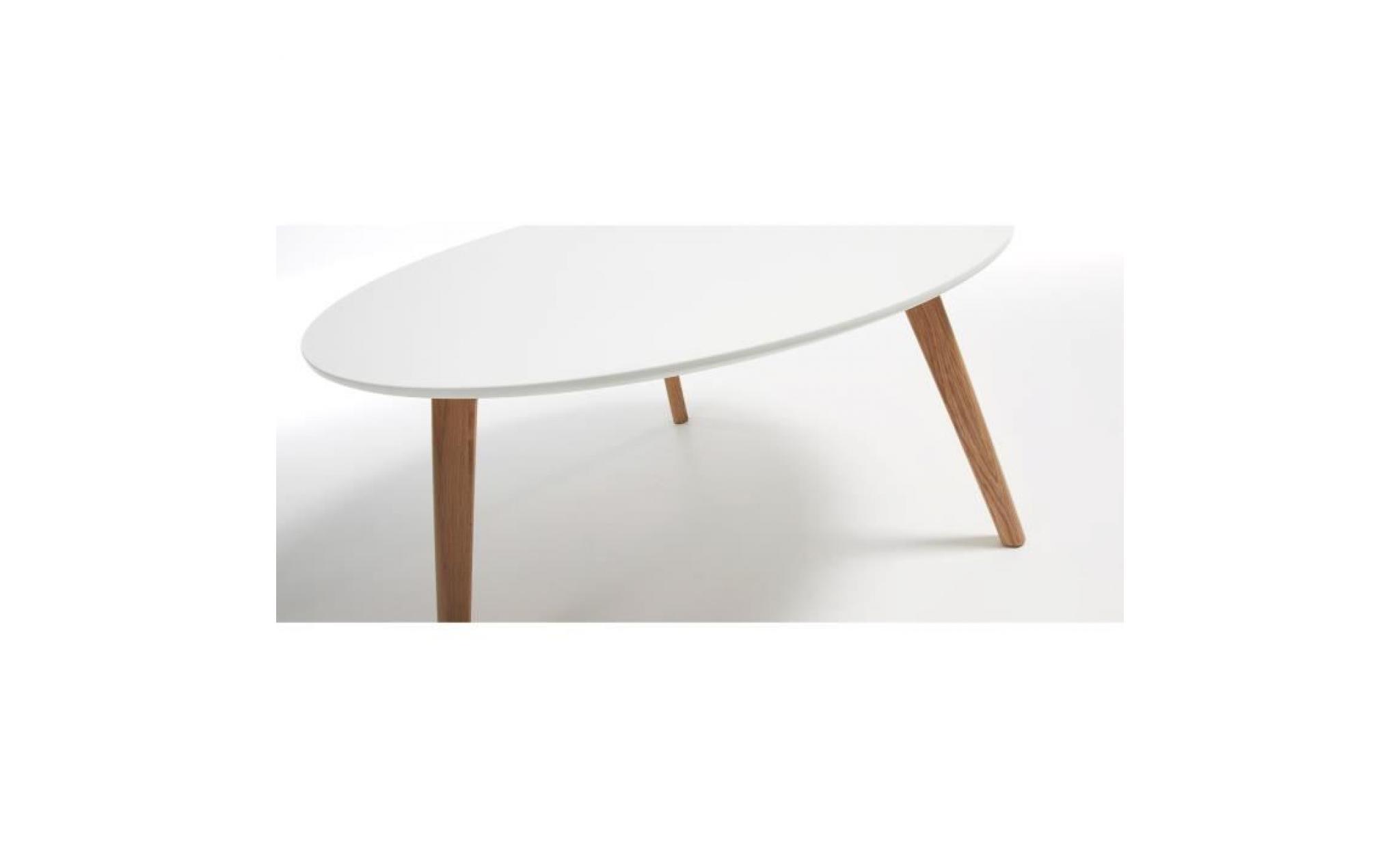 table basse kirb 90 cm blanc achat vente table basse pas cher couleur et design fr