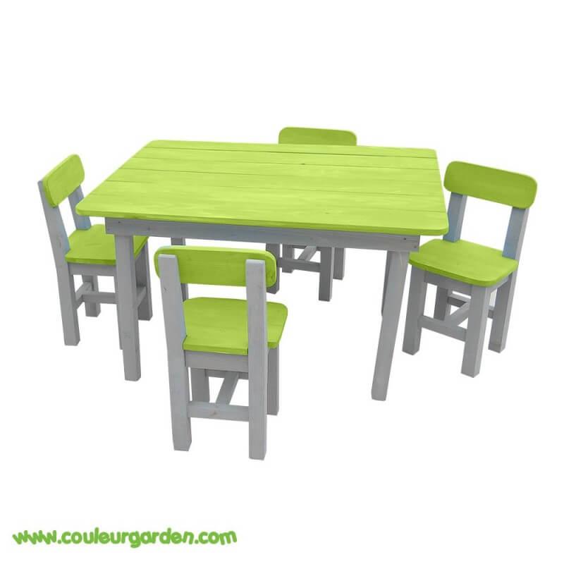 salon de jardin pour enfant