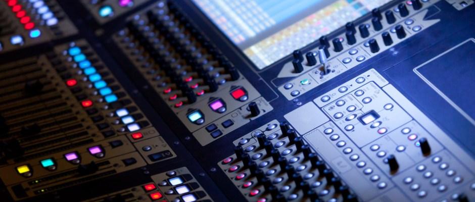 Big Audio Mixing Console