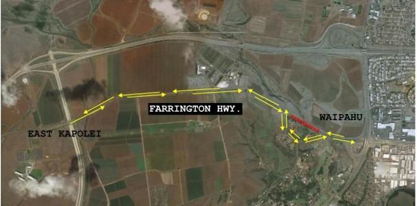 farrington, highway, reopen, kapolei, ewa, kualakai, parkway, hart