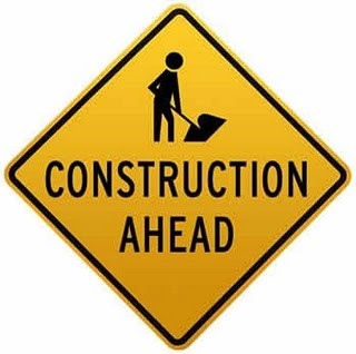 constrution ahead sea maili