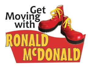 Get Moving with Ronald Mcdonald